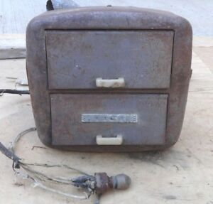 1939 1940 Hudson Hot Water Heater W Switch Original