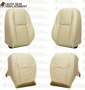 2007 To 2013 Gmc Sierra And Chevy Silverado Tahoe Upholstery Seat Cover Tan 333