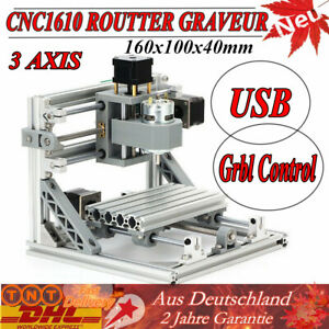 3 Axis 1610 Cnc Router Grbl Control Wood Carving Mini Milling Engraving Machine