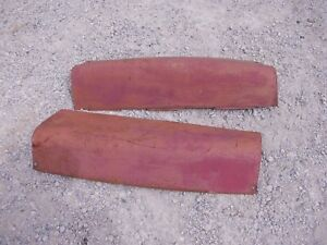 Farmall 560 460 Rc Tractor Ih Set Hood Red Cover Panels Covers Front Of Dash
