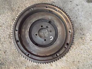 Farmall C Sc Rowcrop Tractor Ih Engine Motor Flywheel And Starter Ring Gear