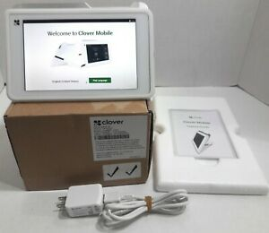 Clover Mobile Wifi 3g C201 Pos System With Chip Reader Slide