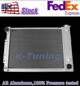 3 Row Radiator 1967 1968 1969 Chevy Camaro Big Block Pontiac Firebird At Mt