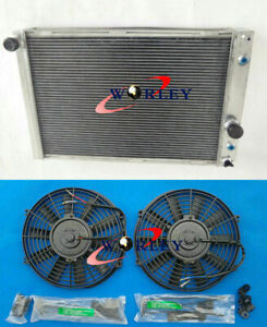 56mm Aluminum Radiator Fans For Chevy Corvette 5 7 L98 Lt1 V8 1991 1996 92 93