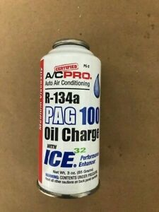Interdynamics Pc2 R134a Pag 100 Medium Viscosity Oil Charge With Ice 32 3oz
