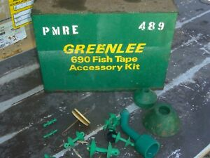Greenlee 690 Fish Tape Accessory Kit Fortugger Wire Cable Puller