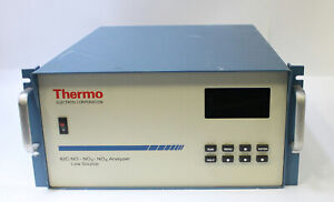 Thermo No no2 nox 42c Chemiluminescence Gas Emission Analyzer For Parts