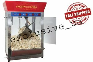 Commercial Popcorn Machine Theater Popper Maker Paragon Classic Free Shipping