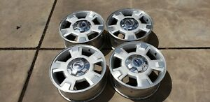 Ford F150 Expedition 17 Factory Rims In Good Condition Incl 4 Rims 4caps