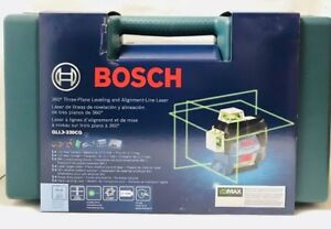 Bosch Gll3 330cg 360 Degree Green Laser Level Replacing Gll3 80 Rechargable