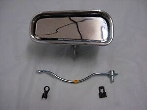 1969 1982 Corvette Lh Outside Door Handle With Rod Upper And Lower Clip Included