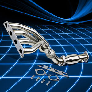 For 02 08 Mini Cooper R50 R52 R53 Non Turbo Stainless Header Manifold Exhaust