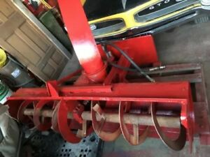Gravely Bobcat John Deere Gehl 76 Inch Snowblower Attachment Skid Steer Loaders