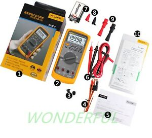 Fluke 87vc F87vc True rms Multimeter Voltage Electric Resistant Signal Tool Temp