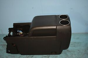 2007 07 2008 08 Lincoln Navigator Center Console W Arm Rest Cup Holder Oem