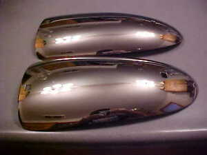 1940s Buick Oldsmobile Cadillac Chevy Bumper Accessory Ends Hot Rod