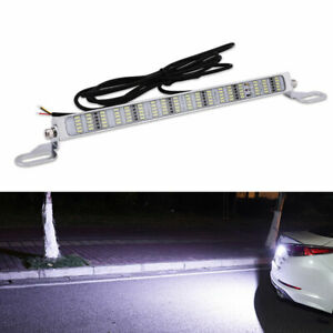 1x Bolt On White 90 Smd Led Lamps For License Plate Lights Backup Reverse Lights
