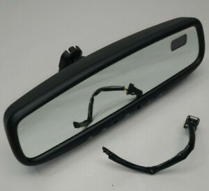 Gentex 453 Auto Dim Rear View Mirror Homelink Blue Compass Toyota Subaru
