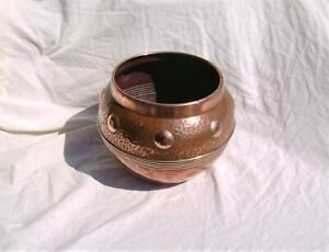 Arts And Crafts Copper Planter Art Nouveau Plant Pot Bowl Jardiniere