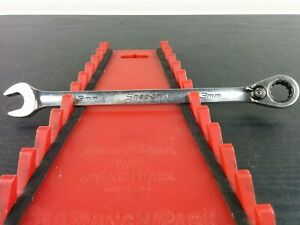 Ad582 Snap On Usa Tools 13mm Metric Flank Drive Plus Ratcheting Wrench Soexrm13