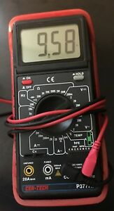 Cen tech 15 Functions Professional Digital Multimeter With Audible Continuity