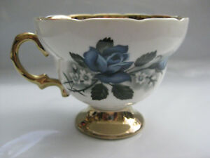 Rosina Bone China Teacup 5519a Ars Gold Plated Made In England