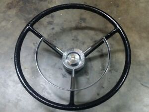 1956 1957 Ford Fairlane Thunderbird Victoria Steering Wheel