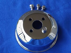 Chrome Oem 94 95 Mustang Gt Cobra Saleen Water Pump Pulley Bolts 5 0