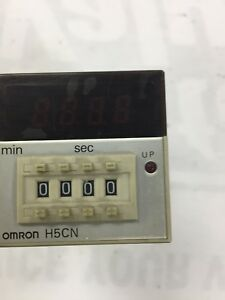 Omron H5cn xcn Timer And Connector