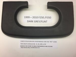 Ford F250 350 Center Console Cup Holder Pad 1999 2010 Dark Grey Flint Pad Top