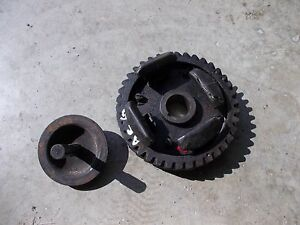 Allis Chalmers G Tractor Ac Camshaft Drive Gear Governor Assembly Broken Weights