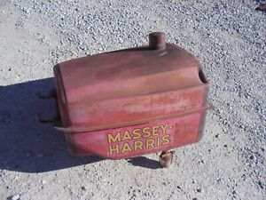 Massey Harris 44 Tractor Gas Tank With Cap Ready To Use Dent Free