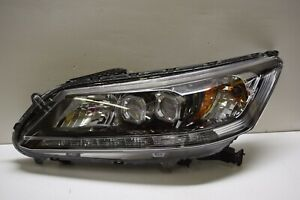 Honda Accord Touring Lh Led Headlight Oem Complete No Damage 13 14 15 2013 2015
