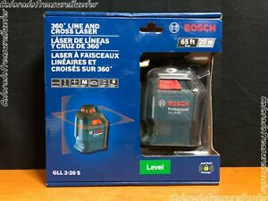 Bosch Gll 2 20 S 65 360 Degree Line And Cross Laser Level