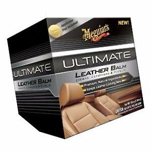 Meguiars Meguiar s Ultimate Leather Balm Cleaner Conditioner G18905 New