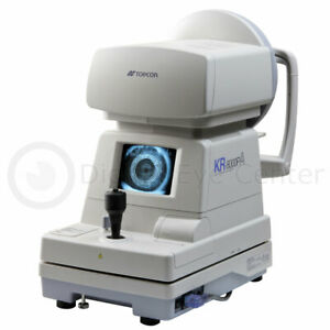 Topcon Kr 8000pa Autorefractor Keratometer Corneal Mapping Laptop And Software