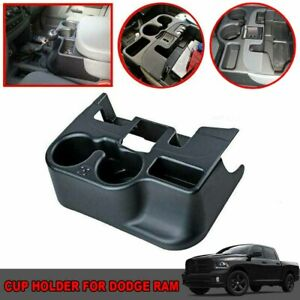 Black Car Center Console Cup Holder For Dodge Ram 1500 2500 3500 2003 2012 Su