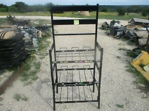 Used Rack W 3 Levels For Soda Fountain Bib Syrup Boxes Use W Flojet Pumps Free