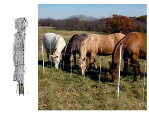 Horse Electric Net Fence Goat Sheep Outdoor Netting Fencing Cage 4 48 24 50 Ft