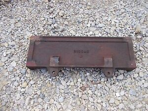 John Deere B Tractor Original Jd Radiator Side Panel Bracket B1804r
