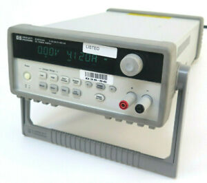 Hewlett Packard E3644a 80w Dc Bench Power Supply 8v 8a Or 20v 4a