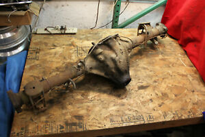 Mg Mgb Tubed Wire Wheel Axle Housing Assembly