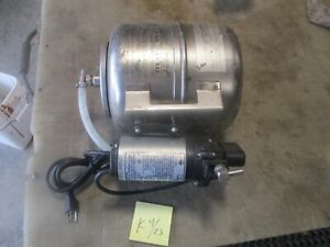 Used Shurflo Water Booster System Pn 804 023 Pump Works Soda Fountain Part