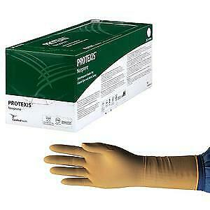 Protexis Neoprene Surgical Glove Size 7 5 Powder free Nitrile Coating 200 Count