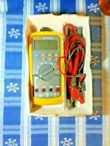 Fluke 787 Processmeter Multi Meter With Leads P21 Clips And Clamps