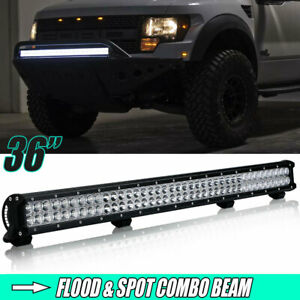36inch 234w Led Work Light Bar Flood Spot Combo Offroad 4wd Boat Truck Suv
