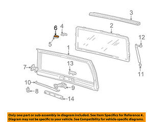 Gm Oem Liftgate Tailgate Hatch Gasket Right 15684720
