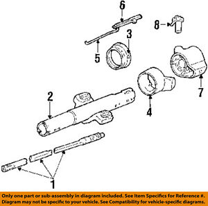 Gm Oem Steering Column Assembly ignition Rod 7832553