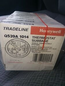 10 Pc Tradeline Honeywell Thermostat Subbase Q539a 1014 10 Pcs pack