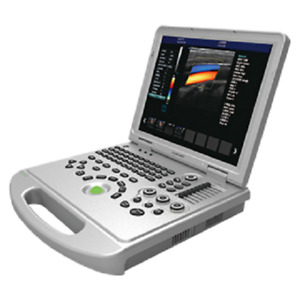 Laptop Ultrasound Color Doppler Scanner 15 Lcd Display 128 Elements Pw Cw